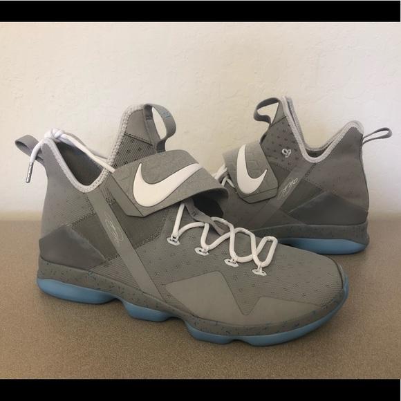 newest 89dba 1cd37 Nike Lebron XIV 14 MAG Marty Mcfly Men s Size 15